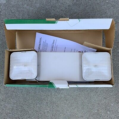 Exitronix Emergency Lighting Unit Thermoplastic Vintage Untested #N1
