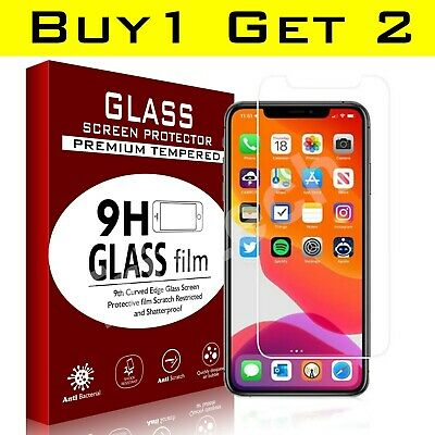 Tempered Glass Screen Protector For iPhone 11, 11 Pro Max iPhone XR X XS SE 2020