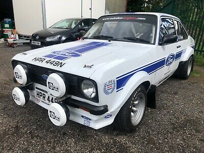 Ford escort Mk2 group 4 rally