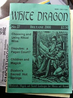 WHITE DRAGON magazine no 27 wicca occult paganism