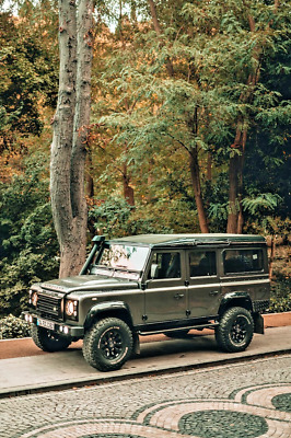 1980 Land Rover Defender 110 1990 EUROPE IMPORT ! This is one of the best looking defenders, fully restored