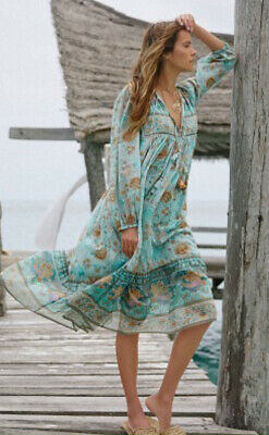 NWT Spell & The Gypsy Seashell Boho Dress, M