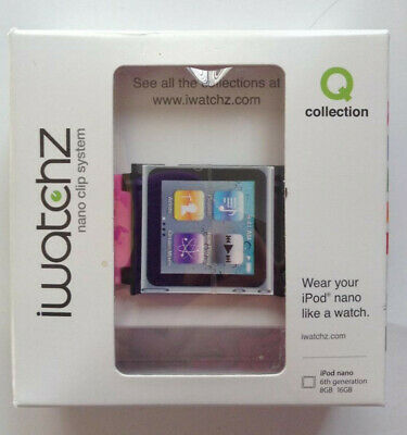 iWatchz Nano Clip System - Pink- 6th Generation 8 GB 16 GB New In Box