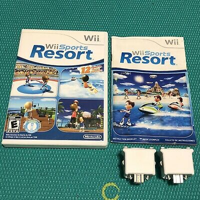 Nintendo Wii Sports Resort with 2 Wii Motion Plus Adapters
