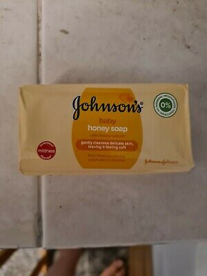 Johnson & Johnson Baby Soap 100G Bar With Honey Paraben Free