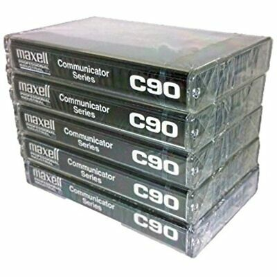 Maxell Professional Industrial Communicator Series C90 Audio Cassette Tapes - 5
