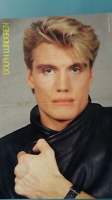 dolph lundgren poster 2 pages