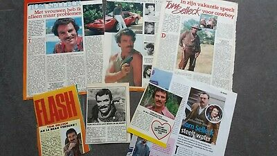 tom selleck, magnum clippings