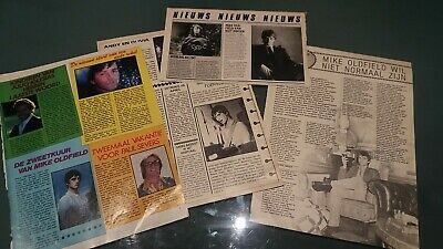mike oldfield  clippings