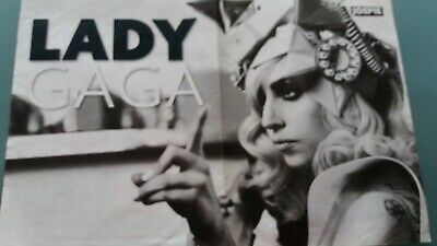poster 2 pages lady gaga