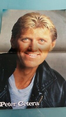 peter cetera  poster 2 pages