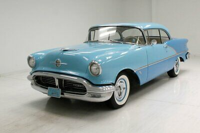 1956 Oldsmobile 88 Holiday Coupe Excellent Paint/Flawless Chrome/324ci Rocket V8/Excellent Leather Seats