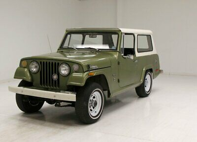 1970 Jeep Jeepster Commando 225ci V6 3-Speed/2 and 4WD/Simple Interior/Some TLC Needed