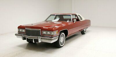 1976 Cadillac Coupe DeVille  Excellent Straight Metal/Plenty of Nice Chrome/500ci V8/Rebuilt Interior