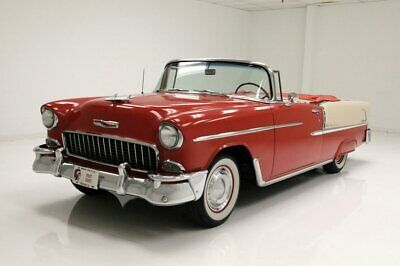 1955 Chevrolet Bel Air Convertible Numbers Matching 265ci V8/2-Speed Powerglide/Low 2 Owner Miles
