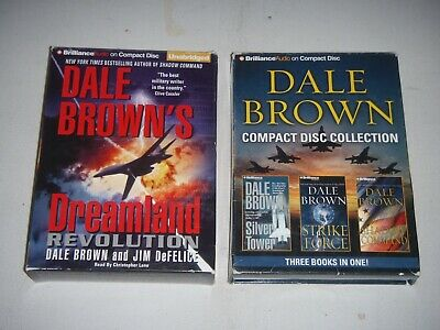 Dale Brown Audio Book Collection. 4 Books.