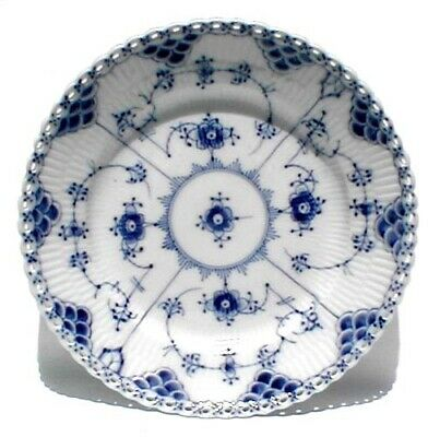 "Royal Copenhagen Fluted Full Lace Salad Plate, 7 1/2"", Lot 2"
