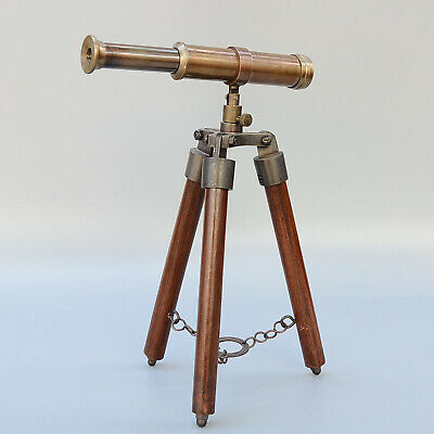 AAA Collectable China Old Copper Handwork Interesting Unique Folding Telescope