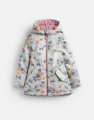 Joules Girls Raindrop   Waterproof School Coat  -  Size 9yr-10yr