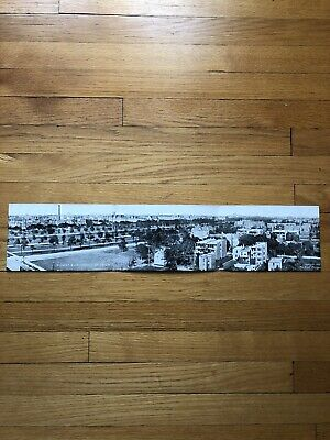 Max Rigot Midway & University of Chicago IL 1909 Panoramic Trifold Postcard
