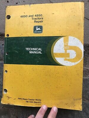 John Deere 4650 And 4850 Repair Manual