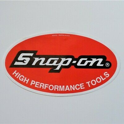 Snap˗on Tools Vintage Decal Large Red Oval Logo (SS-557A) NEW