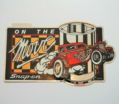 "Snap˗on Tools Vintage Decal ""On the Move"" (SSX-1091) NEW"
