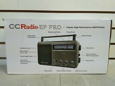 CCRadio - EP PRO AM/FM Radio (shelf 42)