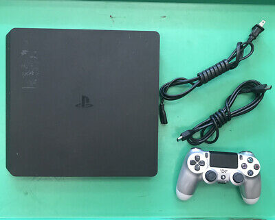 Sony PlayStation 4 Slim 500GB Black PS4 CUH-2015A System Console
