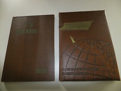 """(2 Books) Red Lion, Pa. (Those Who Served In Wwii  & 1942 """"The Lion"""" Yearbook)"""