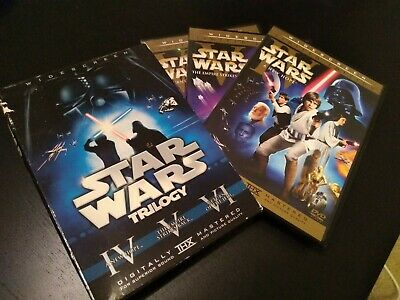 Star Wars Original Trilogy with THEATRICAL CUTS LIMITED EDITION - 6 DVD Box Set