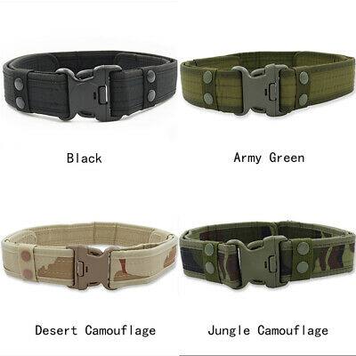 MIL TEC MENS MILITARY Army Belt Quick Release Buckle