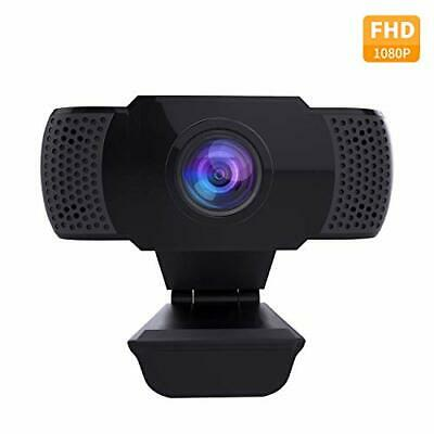 wansview Webcam with Microphone, 1080P HD PC Webcam with USB Plug and Play Web