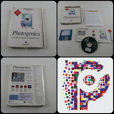 Photogenics Software on CD for the Commodore Amiga Computer tested & working