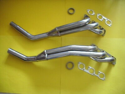 Mercedes W 123 280 E/CE/TE M 110 Engine Longtyp Header Stainlees Steel New.