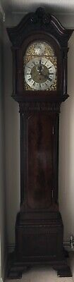 Antique Long Case Grandfather Clock c1900