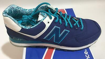 Chaussure New Balance Homme ML574ILB Bleu/Turquoise/Blanc Taille 41.5