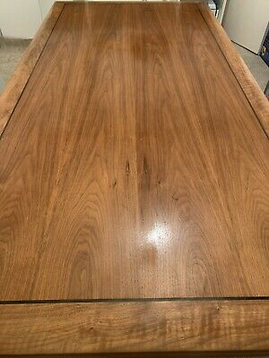 American Walnut Boardroom / Conference Table 7 Cms Thick . 2m x 1m