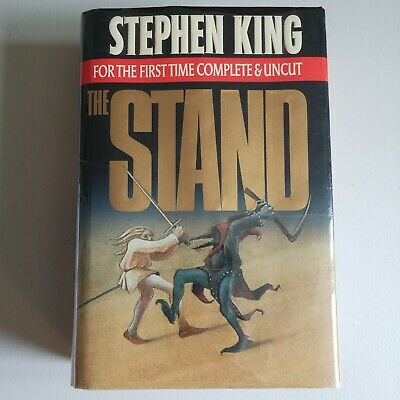 1st Trade HC Printing - The Stand by Stephen King - Complete and Uncut (1990)
