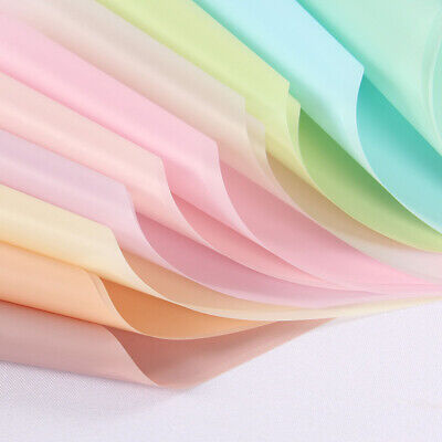 Flower Making Translucent Waterproof Paper Bouquet Wrapping Scrapbooking