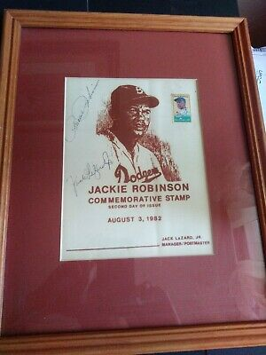 Rachel Robinson Only One Signed Jackie Robinson USPS Commemorative Cancellation