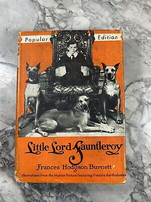 """1936 Antique Classic Book """"Little Lord Fauntleroy"""""""