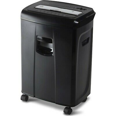 Aurora 12-Sheet Cross Cut Paper and Credit Card Shredder with Pullout Basket
