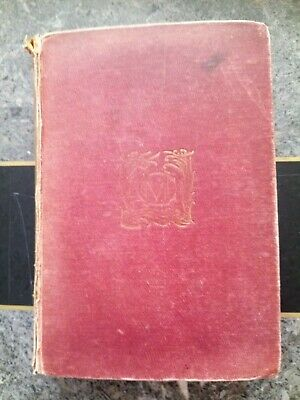 """Antique Marie Corelli """"Wormwood"""" 8th Edition Book published by Methuen & Co.1897"""
