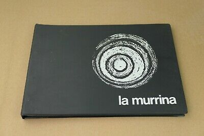 Catalogue 1973 LA MURRINA verre murano venise Vintage catalog 1970's design