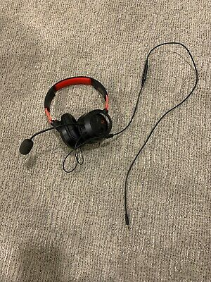 Turtle Beach Recon 70 Red/Black Gaming Headset Nintendo Switch