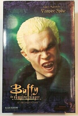 "Btvs Sideshow 12"" Buffy The Vampire Slayer James Marsters Spike 1/6 Figure"