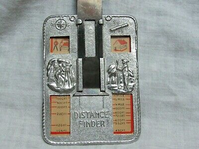 1950's Quaker Oats Sgt. Preston Distance Finder With 2 Cards Very Good Condition