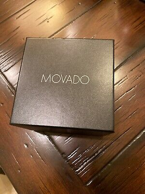 Brand New & 100% Authentic Movado Watch Gift Box With Warranty Booklet