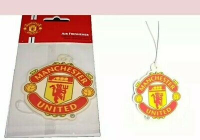 Manchester United football FC Car Air Freshener - Licensed Official Merchandise